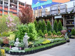 chelsea garden center ping in red