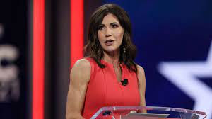 2024 came early for Kristi Noem ...