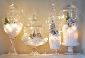 Glass Jar Table Decorations Christmas Decorating Glass Containers Psoriasisguru 54