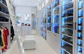 closet lighting effects through led usage