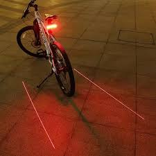 GIYO <b>Laser Bike Taillight</b> USB Rechargeable LED <b>Cycling Rear</b> ...