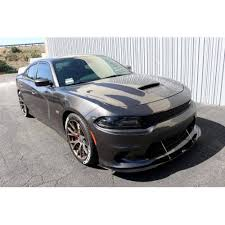 2018 dodge magnum hellcat. fine hellcat apr  carbon fiber front wind splitter w rods dodge charger srt  with 2018 dodge magnum hellcat
