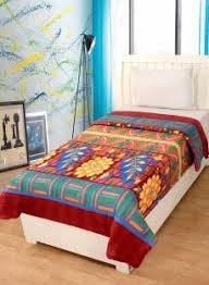 Blankets - Buy Electric Blankets, Quilts & Dohars Online at Best ... & Optimistic Home Furnishing Floral Single Blanket Multicolor Adamdwight.com