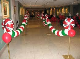 Candy Cane Theme Decorations Christmas Party Decoration Ideas Office Theme Decoration Ideas 60