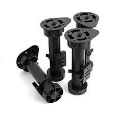 Design61 Lot De 4 Socket Pied Meubles Pieds De Meuble Réglables