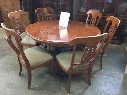 mesmerizing thomasville dining room table at thomasville dining room chair that had torn cane back and worn out