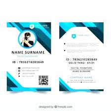 Id Card Templates Free Amazing Id Card Template Try Our Free Templates For Cards