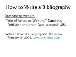 How To Write A Bibliography Book Authors Last Name First