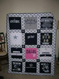 20 best Dallas Cowboys quilt patterns images on Pinterest | Quilt ... & Dallas Cowboy T-Shirt Quilt Adamdwight.com