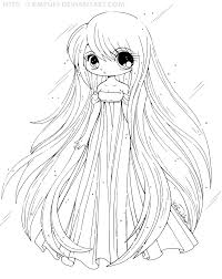 Anime Chibi Coloring Pages Dapmalaysiainfo