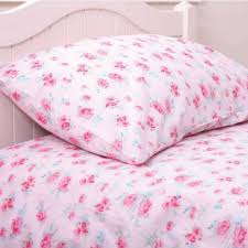 girls rosie cot bed duvet set babyface uk