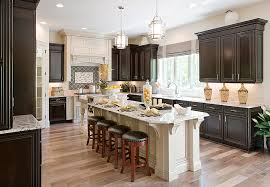 kitchen lighting trend. the progress lighting bay court pendants unify this kitchen area by creating a prominent centerpiece trend n