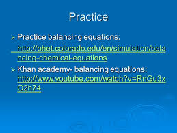balancing chemical equations khan academy talkchannels