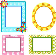 picture frames design frames design collection various shapes with flowers style photo frames design app