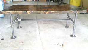 Industrial Pipe Coffee Table Feature Friday Industrial Coffee Table