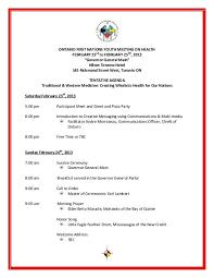 Meet And Greet Meeting Agenda Draft Youth Health Meeting Agenda February 2013 3 1 Pdf