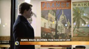 Signed, Sealed, Delivered: From Paris With Love - Stars Eric Mabius and  Kristin Booth - YouTube