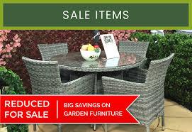 big savings on garden furniture