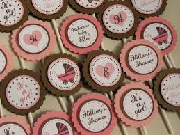Baby Shower Cupcake Toppers Melbourne
