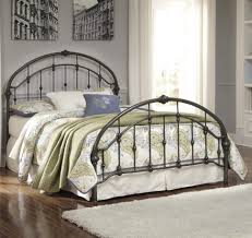 Bed Frames : Bedroom Metal Mattress Frame King Size Wrought Iron ...
