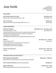 Resume Template Free Download With Basic Word Plus Together