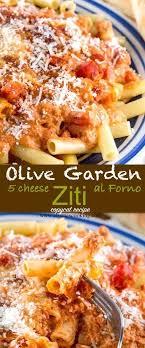 olive garden five cheese ziti al forno copycat recipe