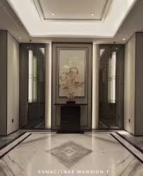 House Entrance Wall Design Pin By Hotung Design On X In 2019 Foyer Flooring