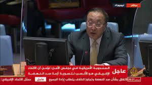 Al Jazeera Channel - قناة الجزيرة - جلسة مجلس الأمن بشأن أزمة سد النهضة