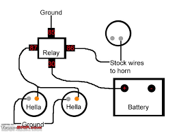 horn wiring diagram with relay voltage regulator wiring diagram 4 pin horn relay wiring at Bosch Horn Relay Wiring Diagram