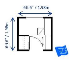 A Tiny Single Bedroom 6.5ft X 6.5ft Which Would Fit In A Single Bed