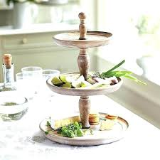 wooden tiered stand wooden three tiered stand traditional kitchen design with three tiered wooden fruit stand