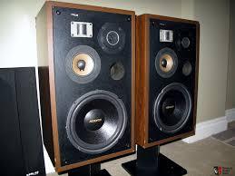 vintage pioneer speakers. vintage pioneer hpm-60 4 way bass reflex speakers with super tweeters