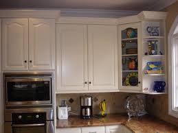 Corner Cabinet With Glass Doors Elegant Kitchen Room Design