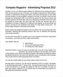 Advertising Proposal Template Best 48 Advertising Proposal Examples Samples PDF DOC Pages