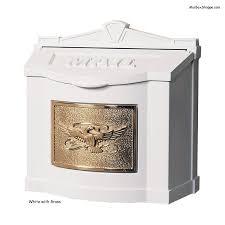 gaines eagle wall mailbox