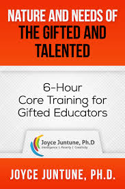 nature needs of the gifted and talented 6 hour