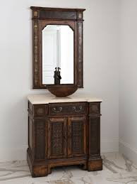 Antique Bathroom Cabinets 32 Esperanza Single Vessel Sink Vanity Antique Bathroom