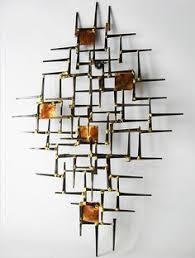 1970 s nails metal abstract wall art sculpture mid century modern jere eames era on mid century wall art metal with gerelateerde afbeelding artwork pinterest metal wall art