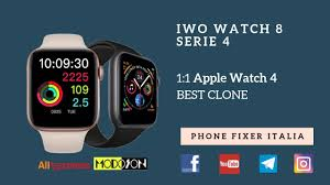 IWO WATCH 8 - Smartwatch Serie 4 - Best Apple Watch 4 CLONE ...