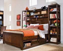 wooden beds for kids bedroom or teeage bedroom decorating