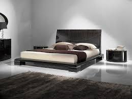 image of modern wooden bed designs