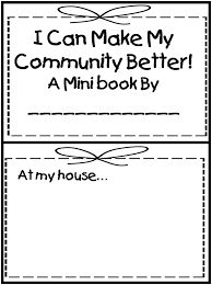 Kindergarten First Grade Wow: Me And My Community | Worksheets ...