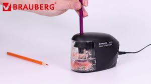 <b>Точилка электрическая BRAUBERG</b> 227565. - YouTube