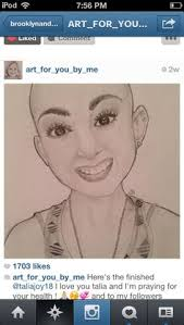 this 13 year old named talia joy has 2 cancers in one body she puts videos about makeup in you her channel is taliajoy18 she ped away july 17