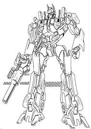 Small Picture Optimus Prime Coloring Pages Optimus Prime Colouring Page Pic