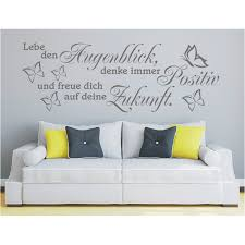 Wall Decals Stickers Home Furniture Diy Wandtattoo Spruch Lebe