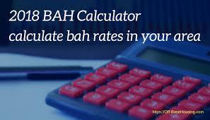 Bah Calculator 2019 Basic Allowance For Housing
