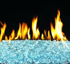glass rock gas fireplace insert glass rocks for gas fireplaces