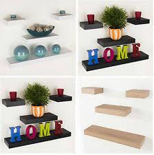 shelves office. Floating Wall Shelf Wood Effect Shelving Shelves Unit Kit Display Home Office T