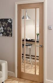 interior office door. Langdale / Worcester Oak 3 Light Glazed Interior Door . Office